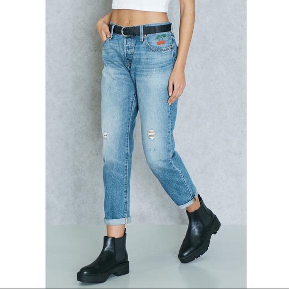498d102d Levi's Jeans | Levis 501 Ct Cropped Original Fit | Poshmark